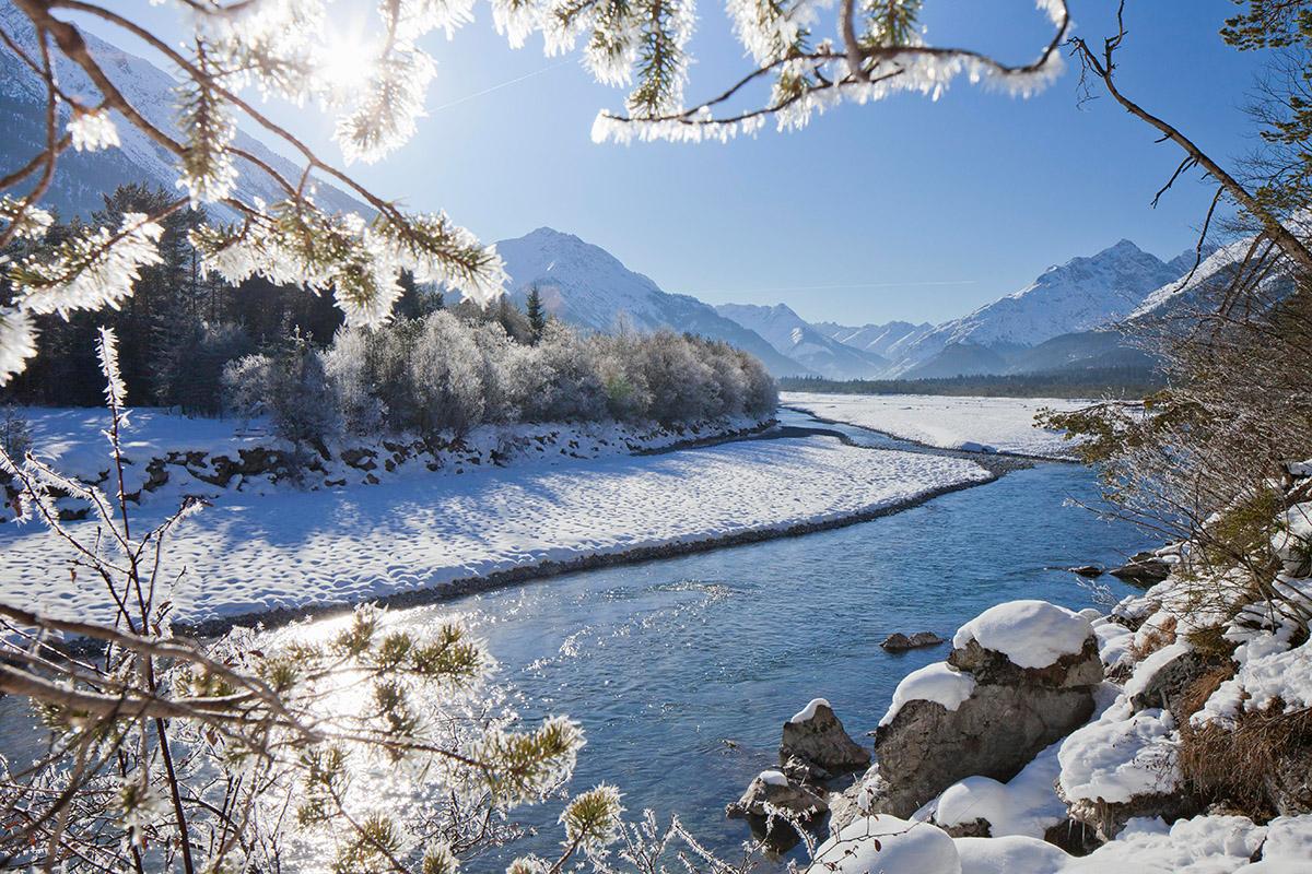 Tiroler Lechtal/Österreich: Sanfte Winter-Aktivitäten