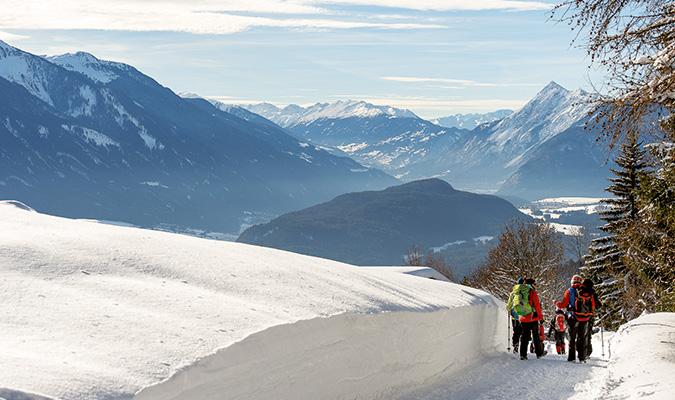 Winterwandern mit Gerlinde Kaltenbrunner