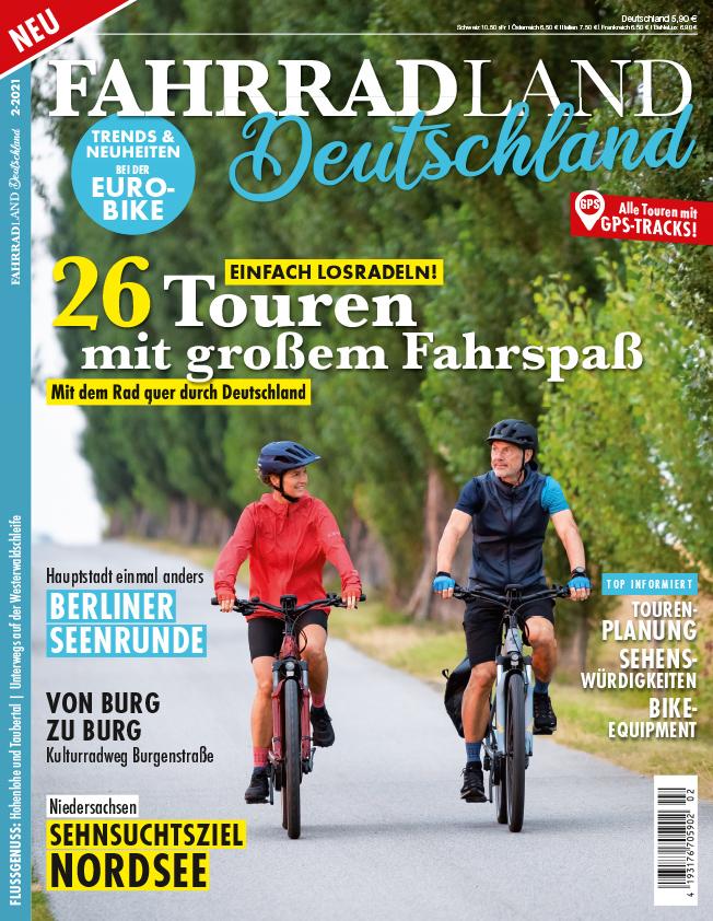 FAHRRADLAND Deutschland 2/21 – jetzt im Handel!