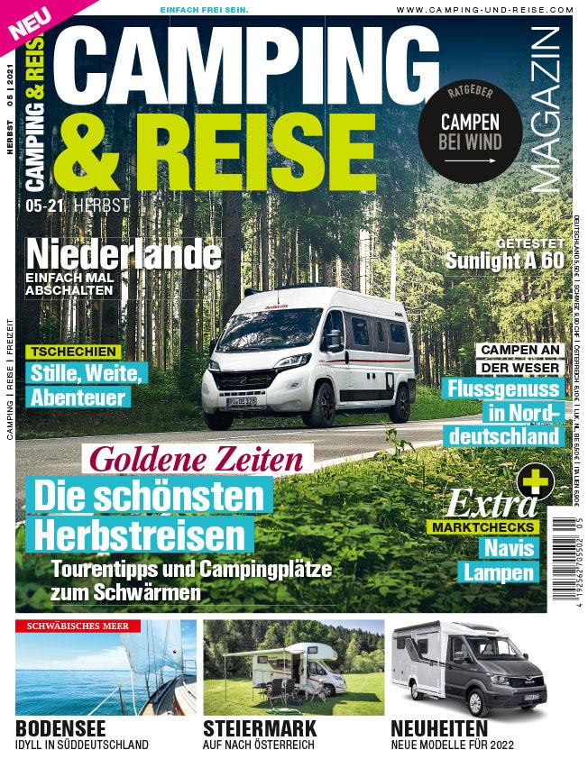 CAMPING & REISE Magazin 5/21 – jetzt im Handel!