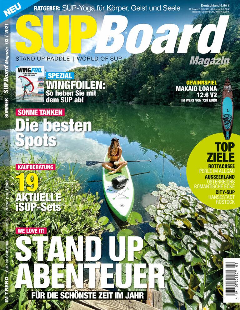 SUP Board Magazin 3/21 – jetzt im Handel!