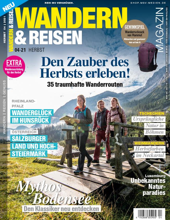WANDERN & REISEN Magazin 4/21 – jetzt im Handel!