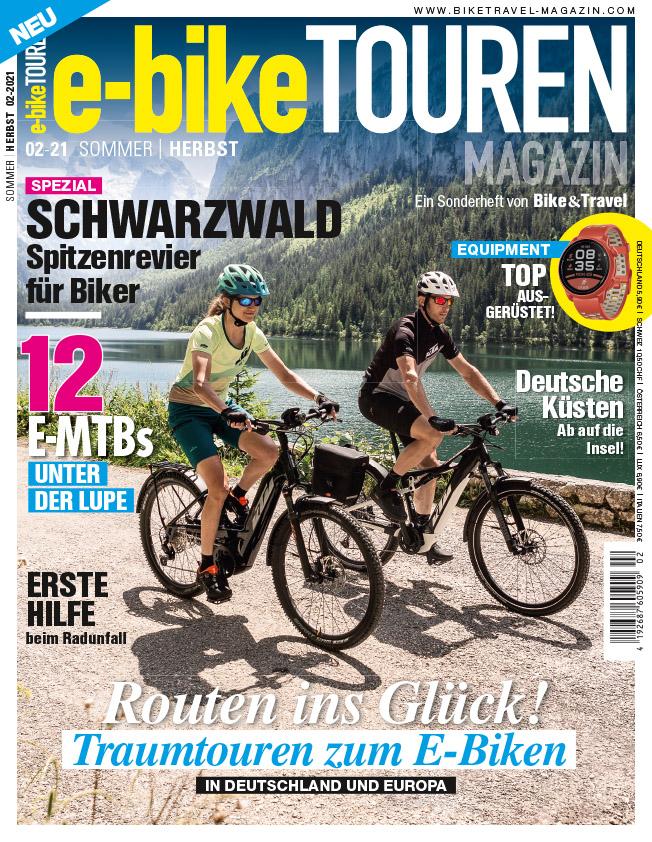 e-bike TOUREN Magazin 2/21 – jetzt im Handel!