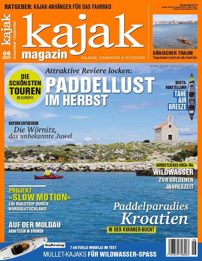 kajak Magazin 6/21 – jetzt im Handel!